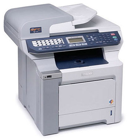 Brother MFC-9840CDW Color Laser Fax Copier Scanner Printer