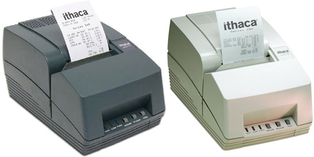 Ithaca 153 Serial POS Receipt Printer